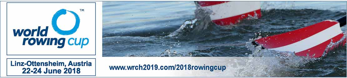 World Rowing Cup 2018 Linz-Ottensheim