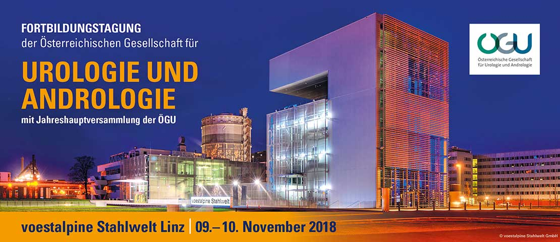 Urologie-Kongress in Linz 2018